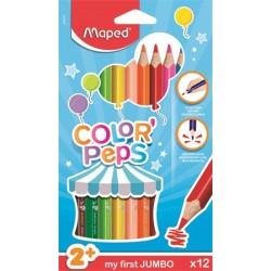 Farebné ceruzky, trojhranný...