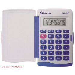 Kalkulačka, vrecková, 8...