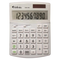 Kalkulačka, stolová, 10...